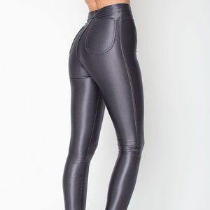 American Apparel Disco Pants in Charcoal
